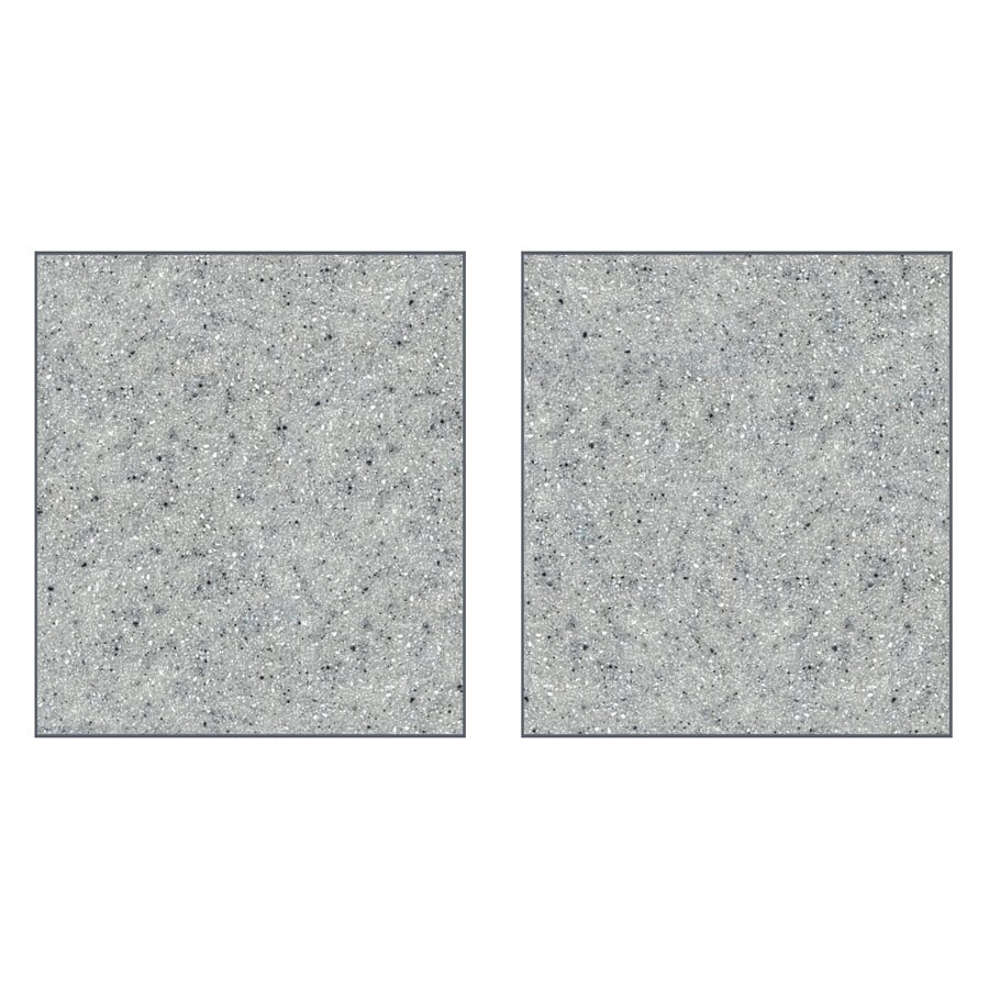 Transolid Decor Matrix Dusk/Stone Shower Wall Surround Side Panel (Common: 0.25-in; Actual: 96-in x 0.25-in)