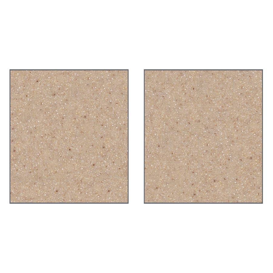 Transolid Decor Peppered Sage Shower Wall Surround Side Panel (Common: 0.25-in; Actual: 96-in x 0.25-in)
