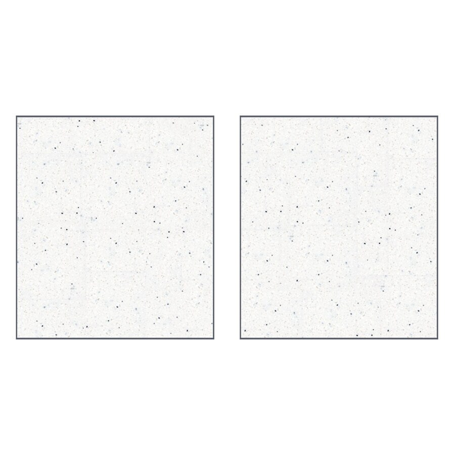 Transolid Decor Matrix Summit/Alabaster Shower Wall Surround Side Panel (Common: 0.25-in; Actual: 72-in x 0.25-in)
