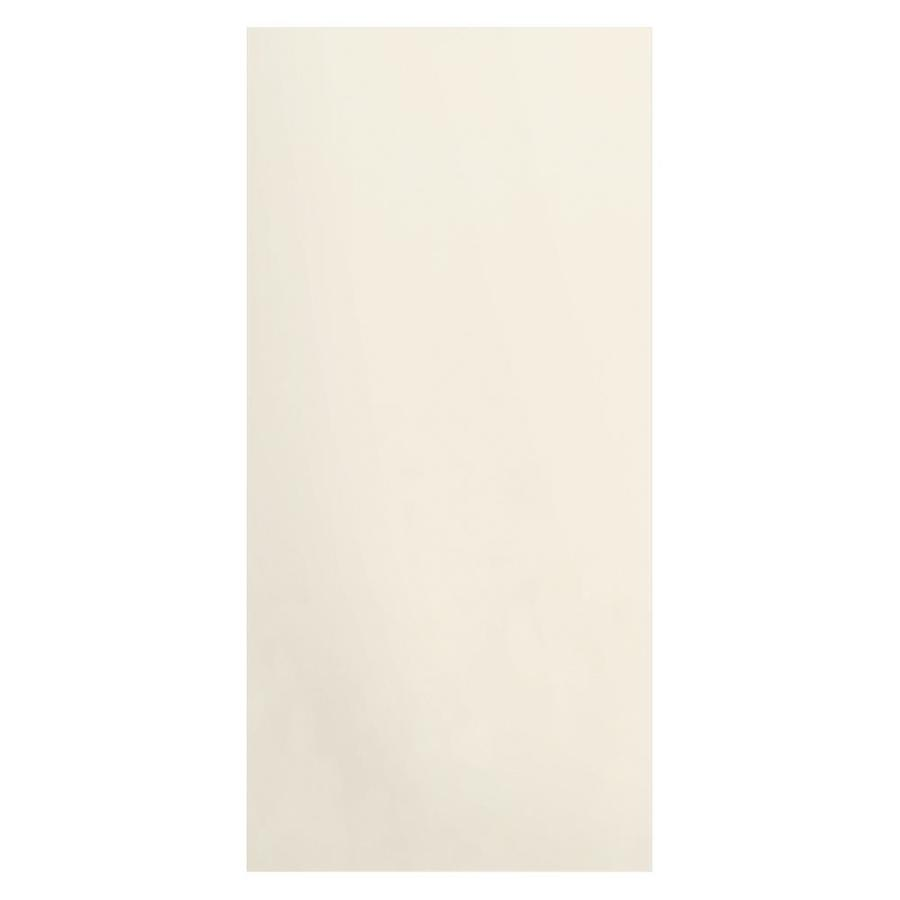 Transolid Decor Cameo/Cream Shower Wall Surround Side Panel (Common: 0.25-in; Actual: 96-in x 0.25-in)