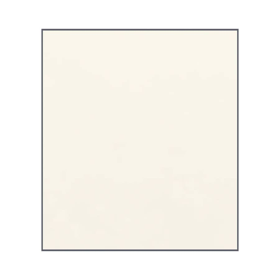 Transolid Decor Cameo/Cream Shower Wall Surround Back Panel (Common: 0.25-in; Actual: 60-in x 0.25-in)