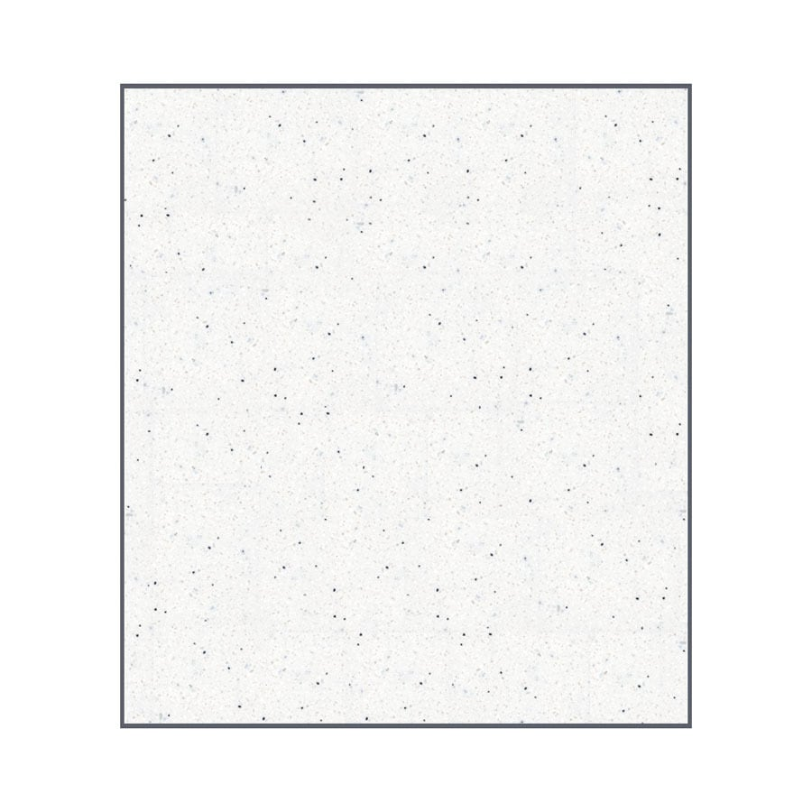Transolid Decor Matrix Summit/Alabaster Shower Wall Surround Back Panel (Common: 0.25-in; Actual: 60-in x 0.25-in)