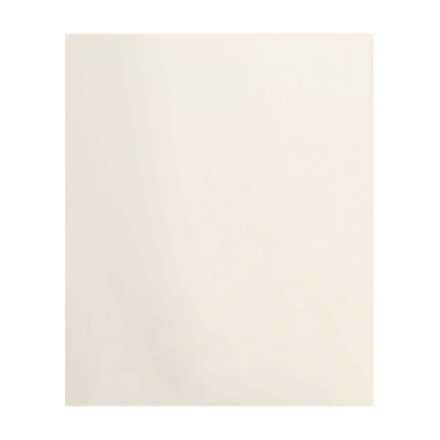 Transolid Decor Cameo/Cream Shower Wall Surround Back Panel (Common: 0.25-in; Actual: 72-in x 0.25-in)