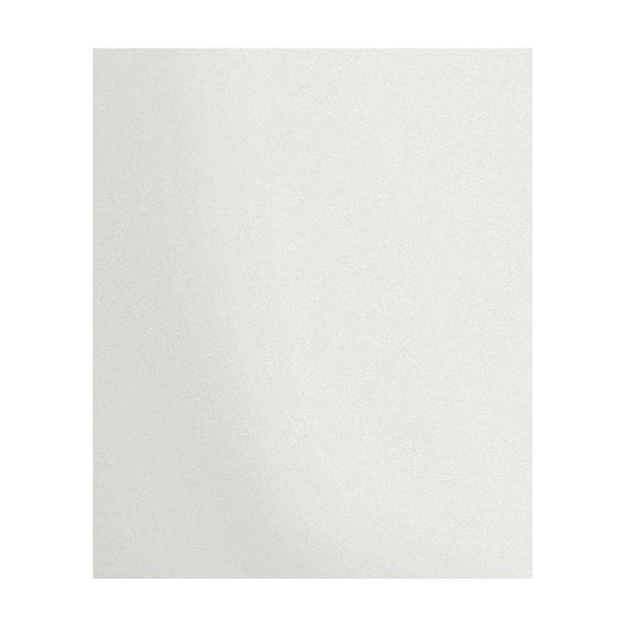 Transolid Decor Matrix White/Speckled White Shower Wall Surround Back Panel (Common: 0.25-in; Actual: 72-in x 0.25-in)