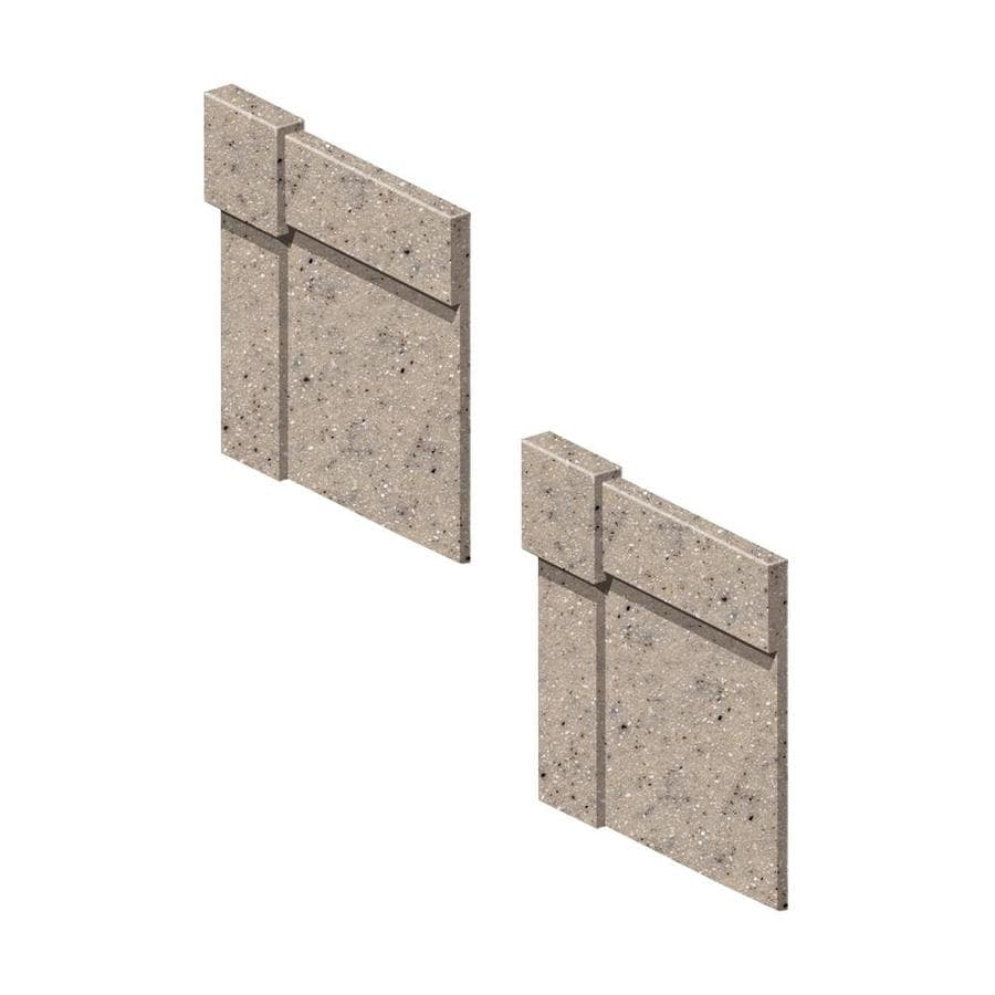 Transolid Decor Desert Earth Shower Wall Decorative Corner Trim Blocks
