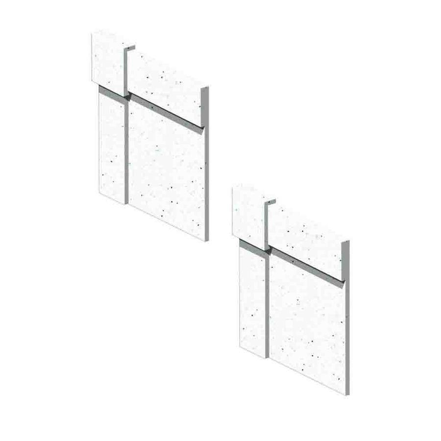 Transolid Decor Matrix Summit Shower Wall Decorative Corner Trim Blocks