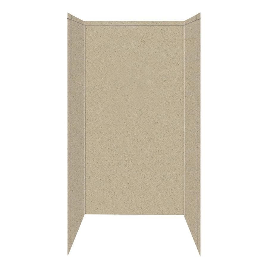 Transolid Decor Matrix Sand Shower Wall Surround Side and Back Panels (Common: 42-in; Actual: 72-in x 42-in)