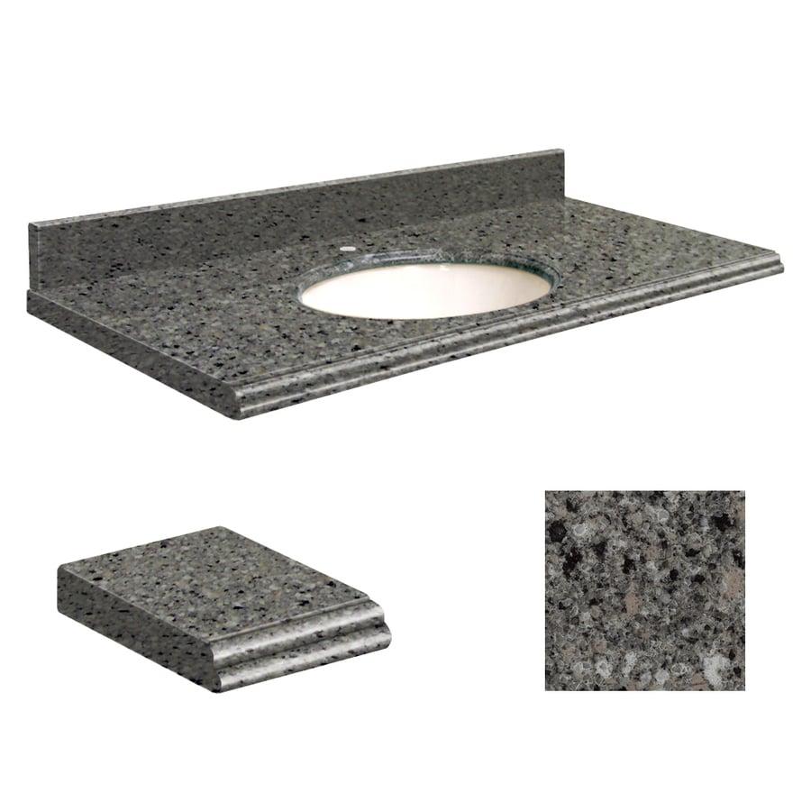 Transolid Canterbury Stone Quartz Undermount Single Bathroom Vanity Top (Common: 25-in x 22-in; Actual: 25-in x 22-in)