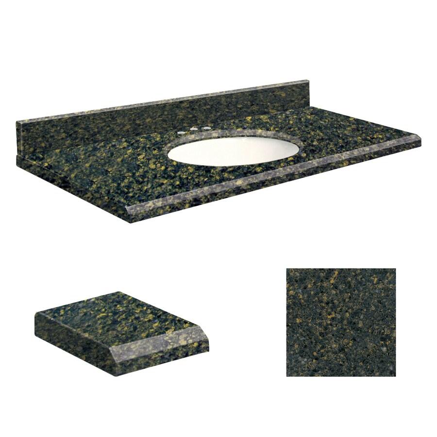Transolid Manchester Square Quartz Undermount Single Bathroom Vanity Top (Common: 49-in x 19-in; Actual: 49-in x 19-in)