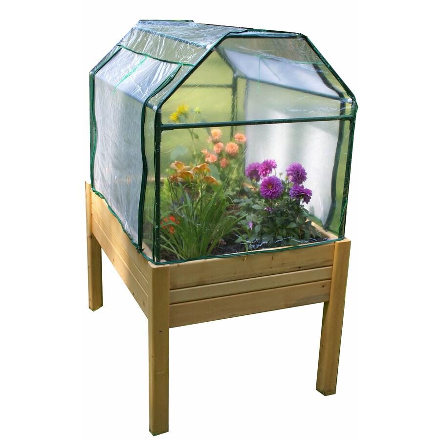Eden 3-ft L x 4-ft W x 5.4-ft H Greenhouse