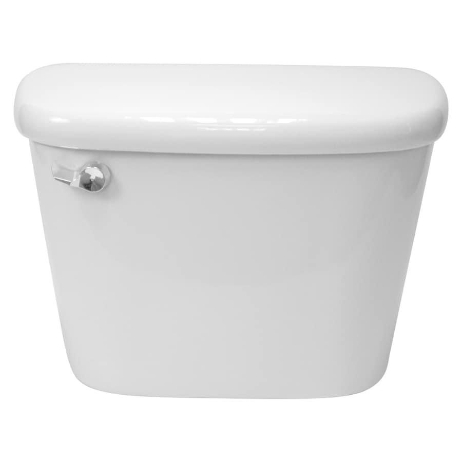 Project Source White 1.6-GPF (6.06-LPF) 12-in Rough-In Single-Flush Toilet Tank