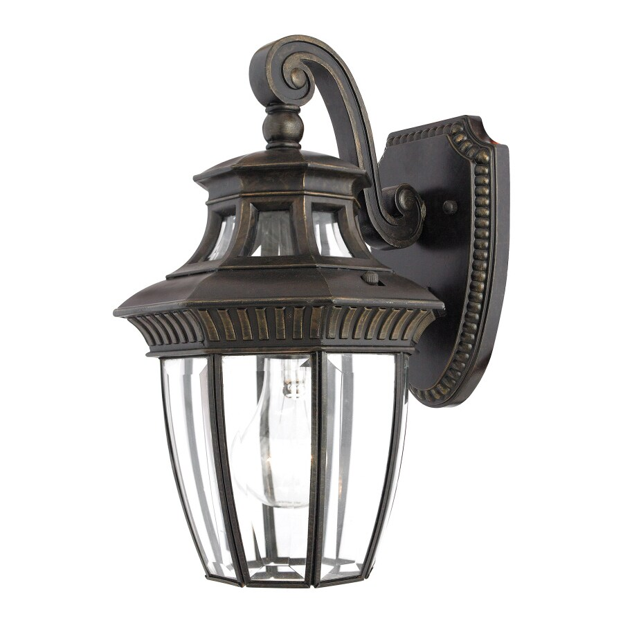 Natalia 13-in W 1-Light Imperial Bronze Pocket Wall Sconce