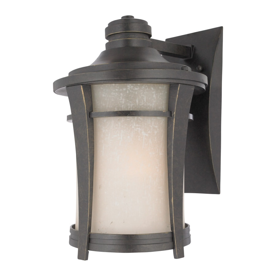 Natalia 13.5-in W 1-Light Imperial Bronze Pocket Wall Sconce