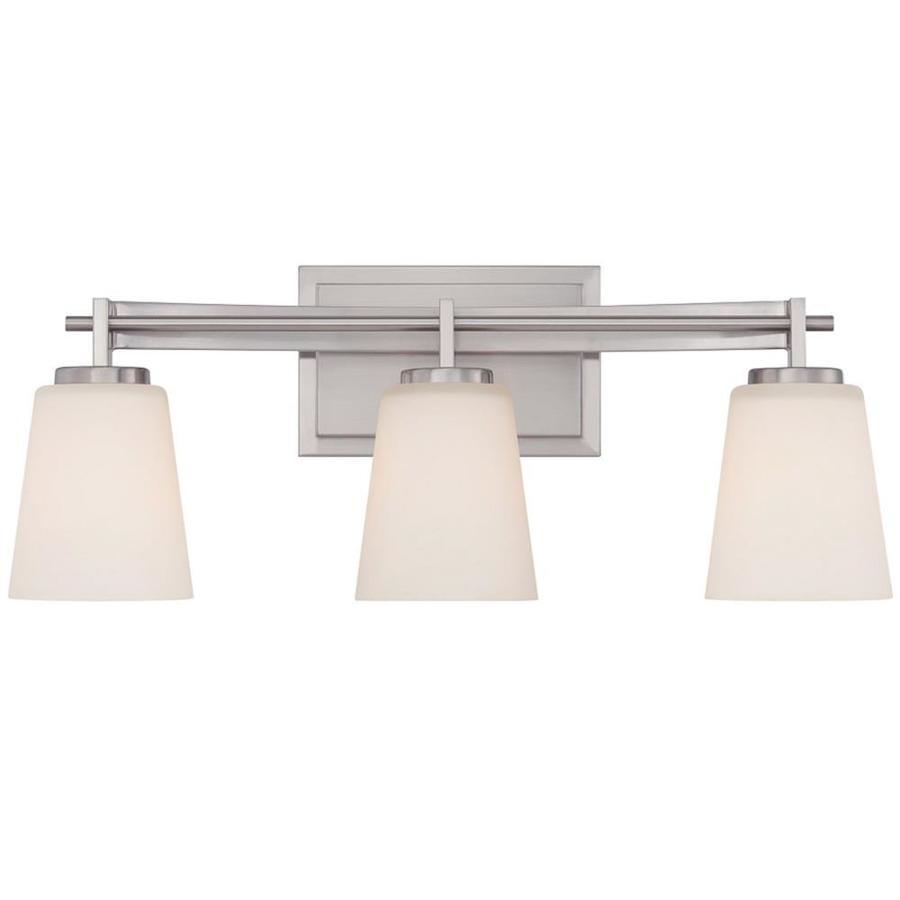 Unto 3-Light Brushed Nickel Vanity Light