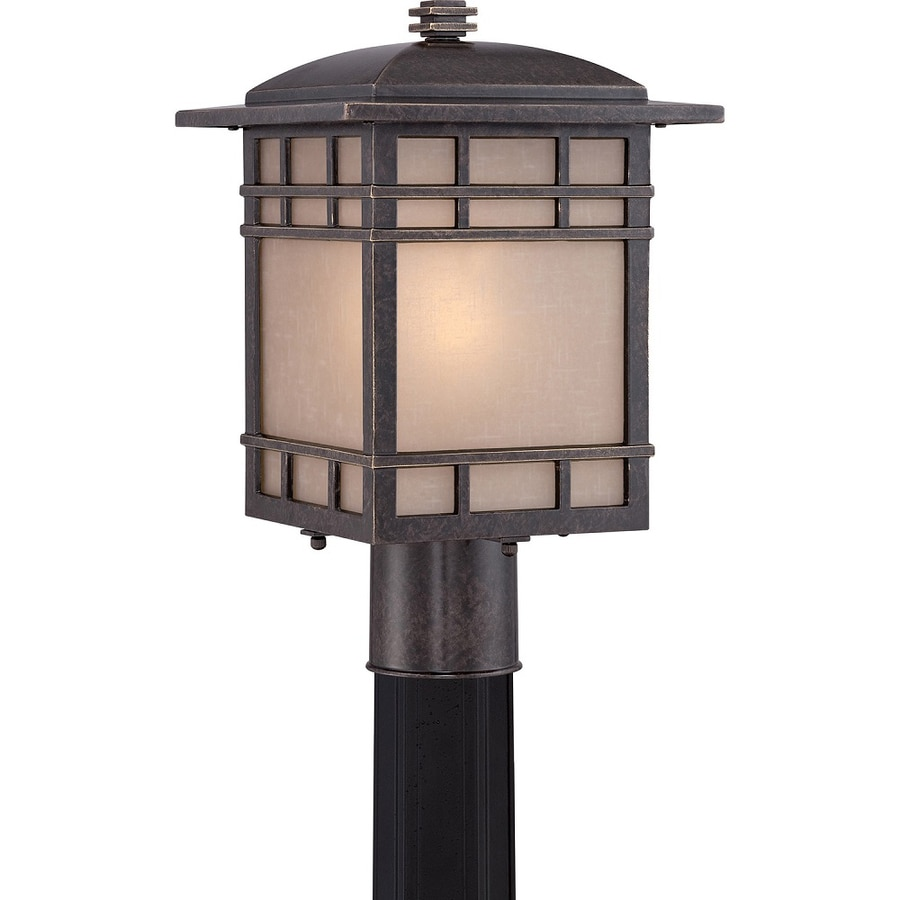 Baratheon 14.6-in H Imperial Bronze Post Light