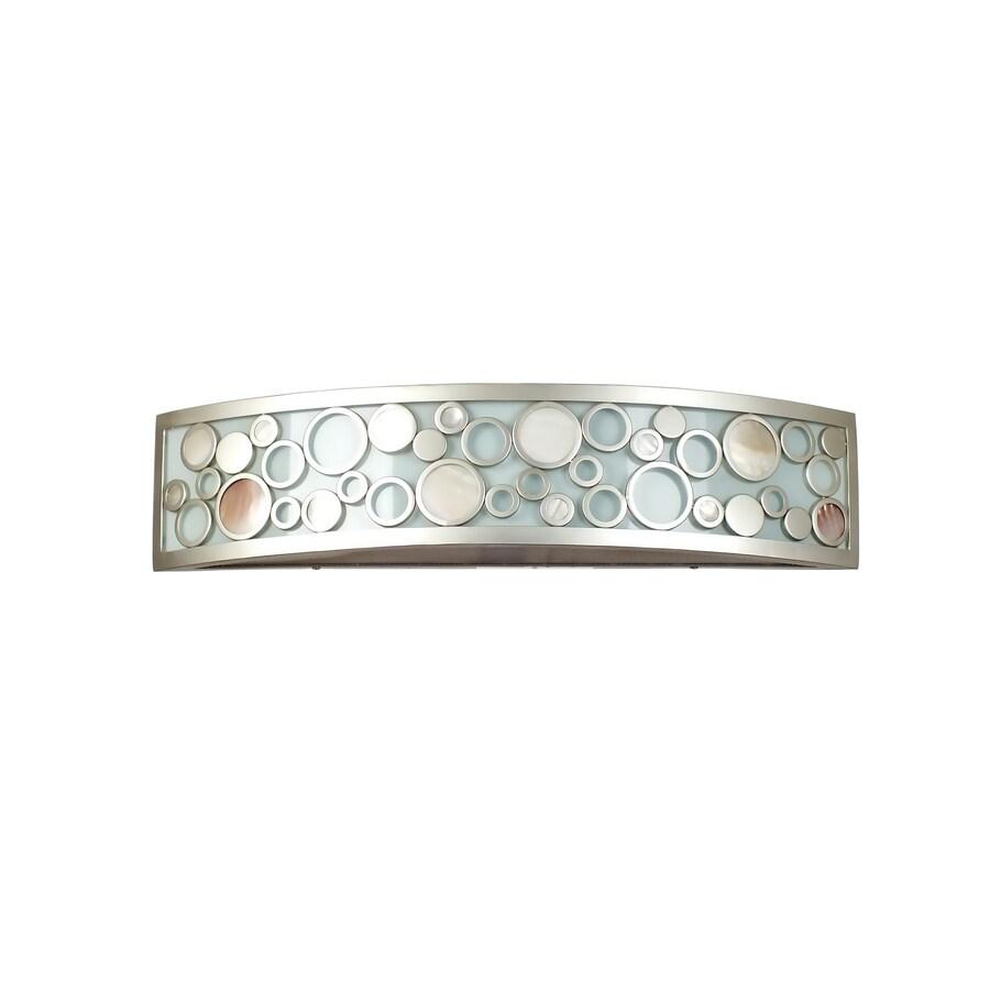 Quoizel Fairgate 2-Light Silver Vanity Light