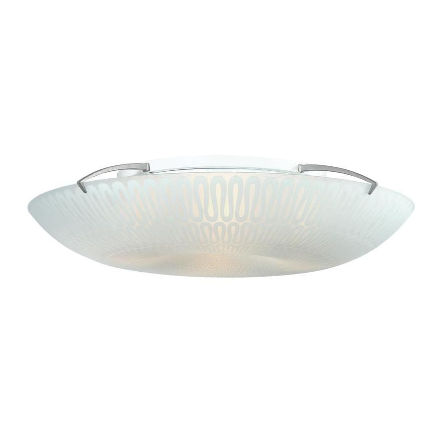Quoizel Paladian 19.7-in W Silver Ceiling Flush Mount Light
