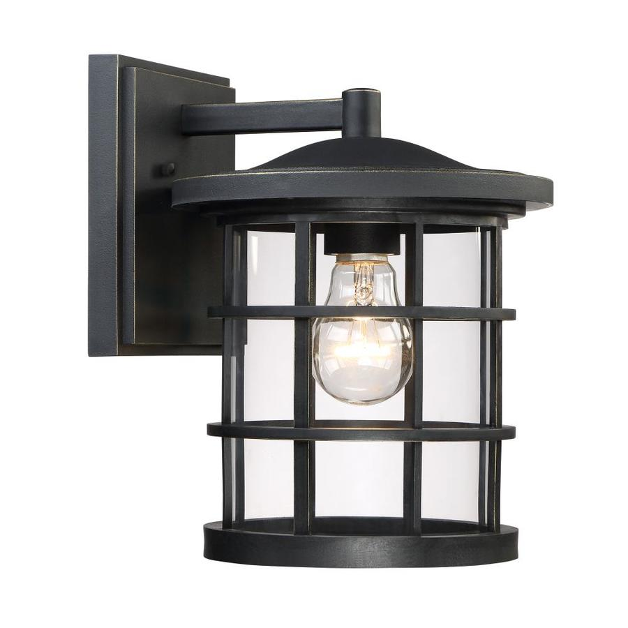 Quoizel Asheville 10.5-in H Dark Oil-Rubbed Bronze Outdoor Wall Light