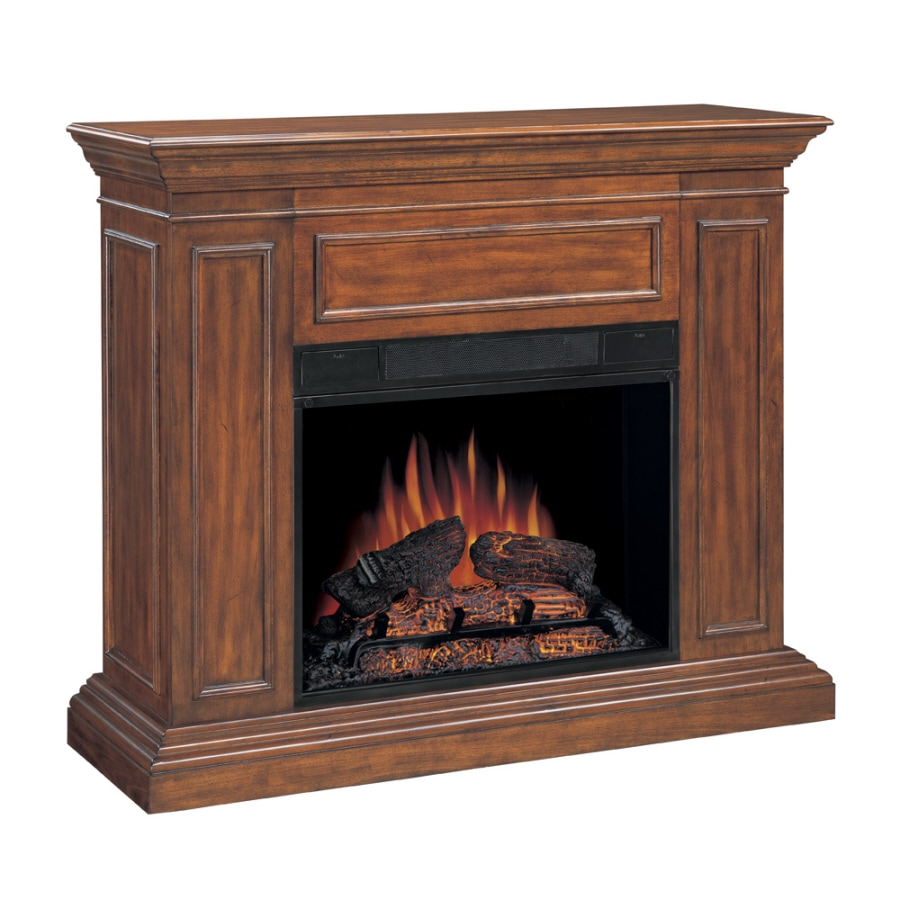 Chimney Free 50-in Walnut Electric Fireplace