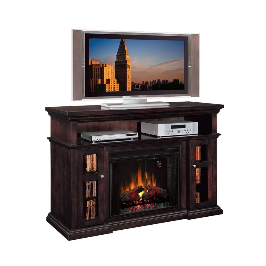 shop 60 in w 5 200 btu espresso wood infrared quartz. Black Bedroom Furniture Sets. Home Design Ideas