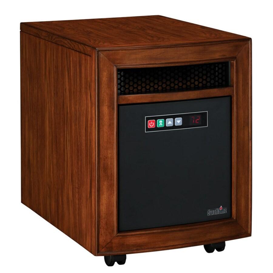 Duraflame Quartz Radiant Cabinet Electric Space Heater