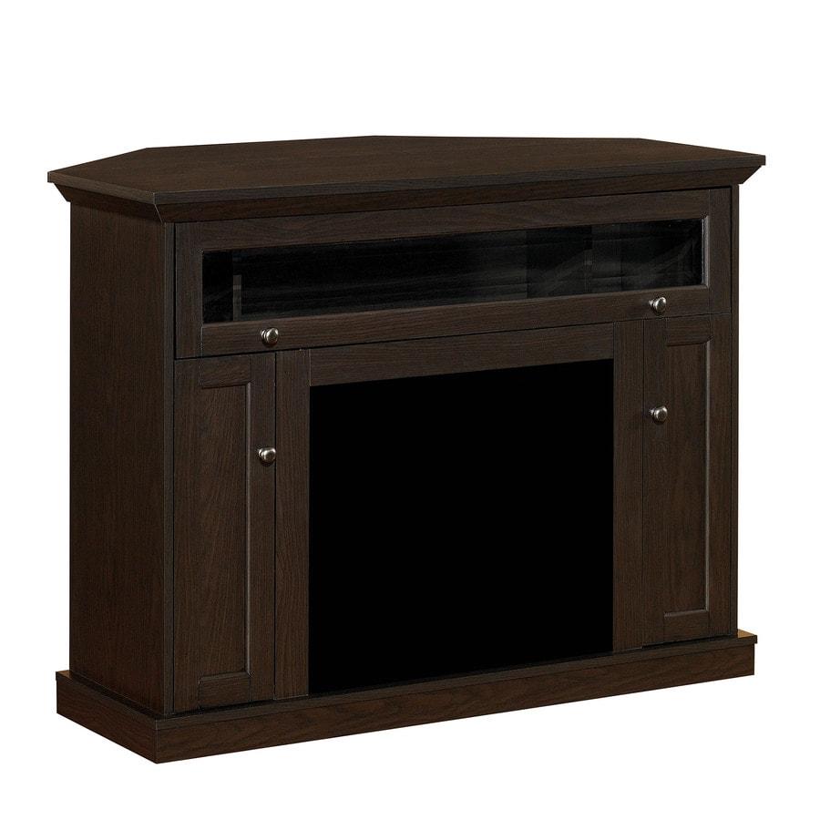 ClassicFlame Windsor Oak Espresso Rectangular Fireplace TV Stand