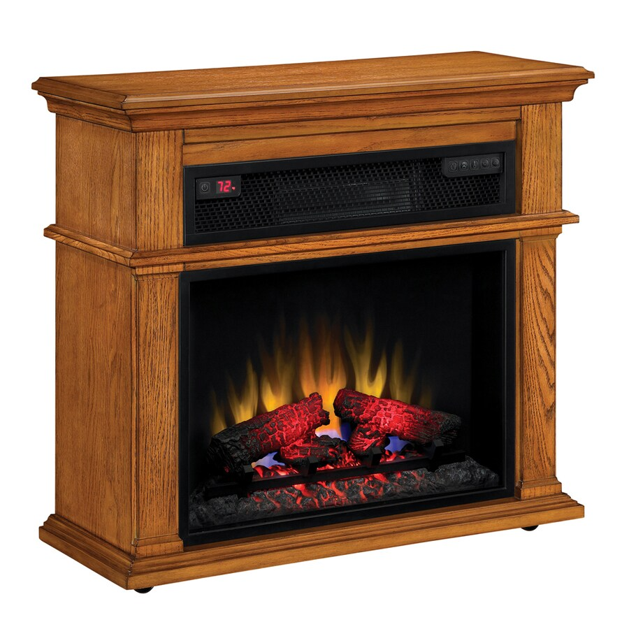 Duraflame 32-in Premium Oak Electric Fireplace