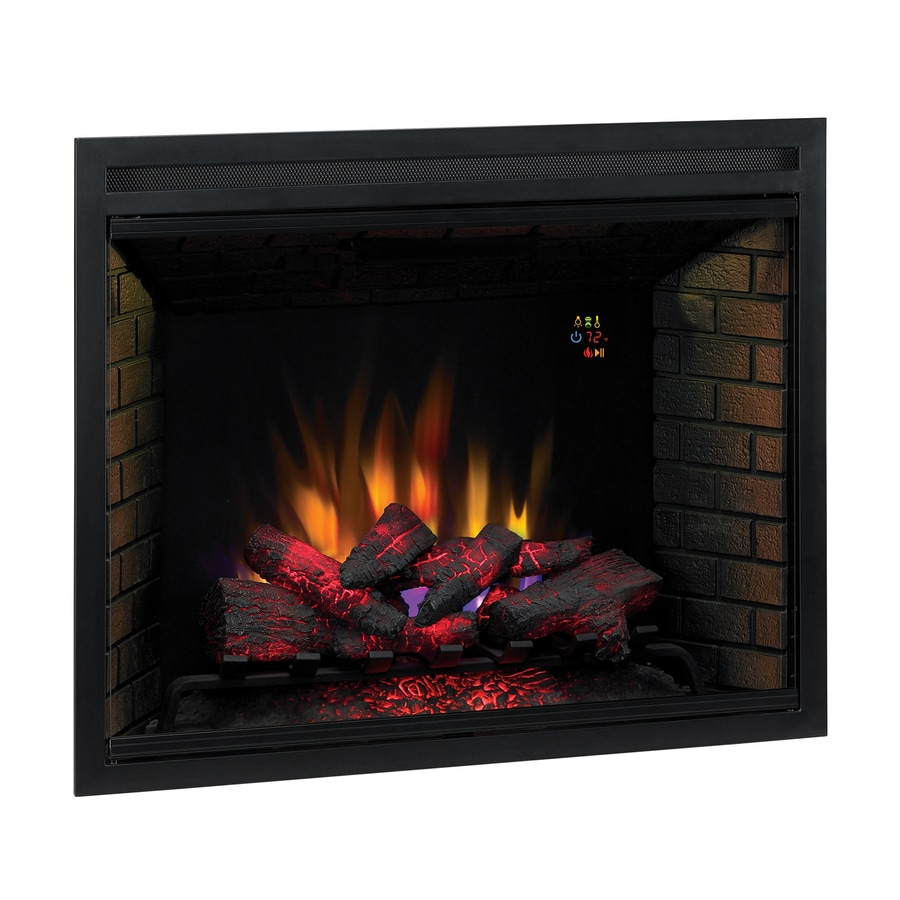 Shop Classicflame 38 9 In Black Electric Fireplace Insert At