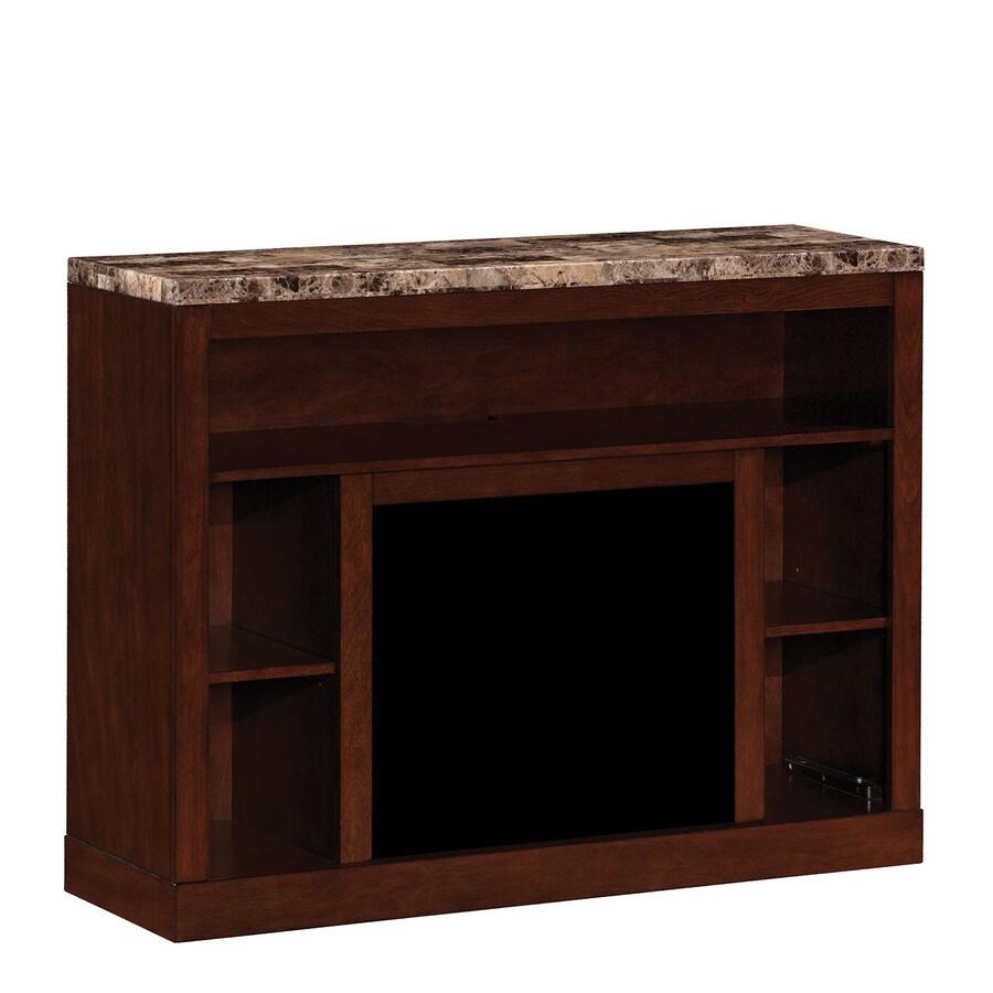 ClassicFlame Adams Empire Cherry Rectangular Fireplace TV Stand