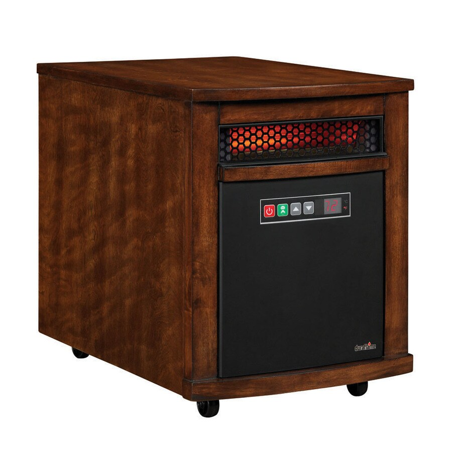 Duraflame 5,200-BTU Infared Cabinet Electric Space Heater with Thermostat