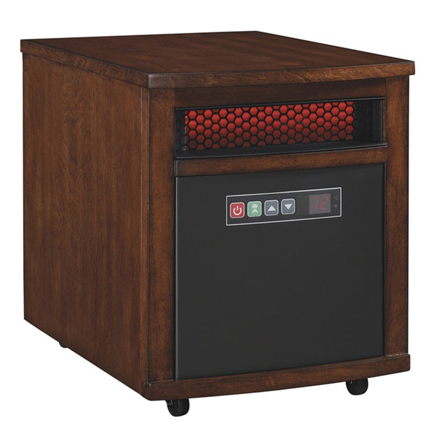 Duraflame 4,600-BTU Infrared Compact Personal Electric Space Heater with Thermostat