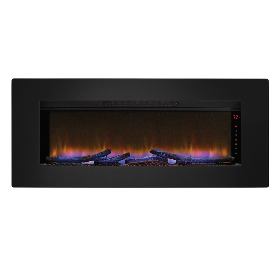 ClassicFlame 46.57-in Black Electric Fireplace Insert