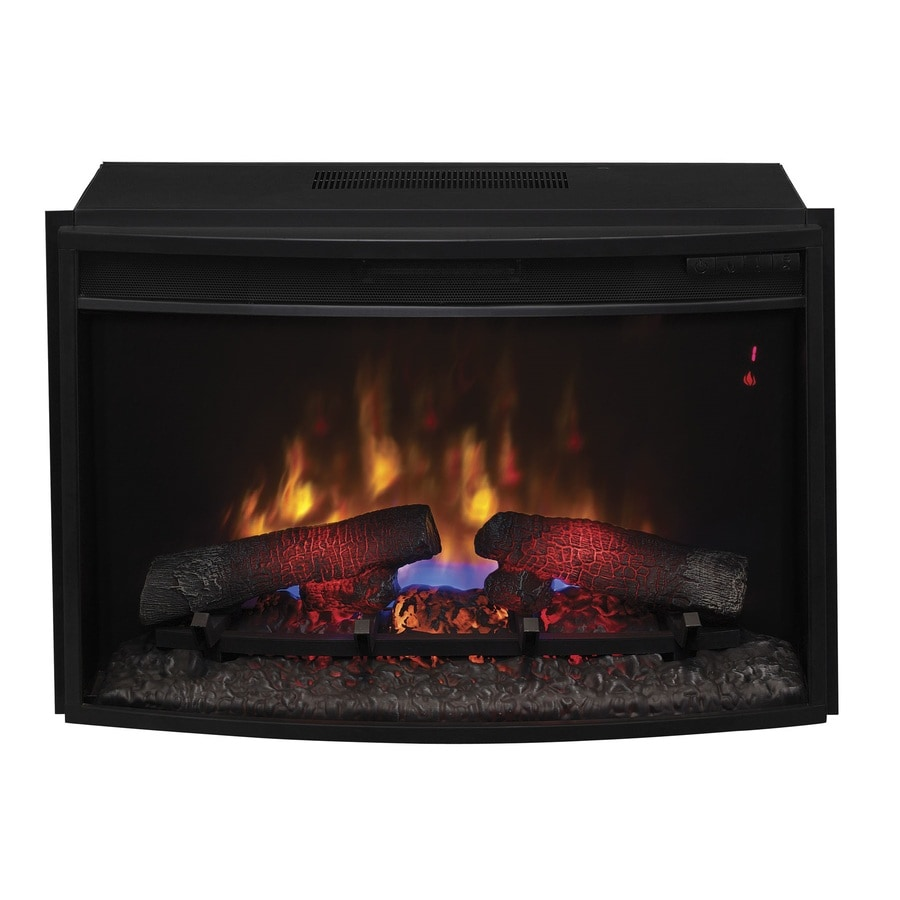 shop classicflame 27 in black electric fireplace insert at. Black Bedroom Furniture Sets. Home Design Ideas