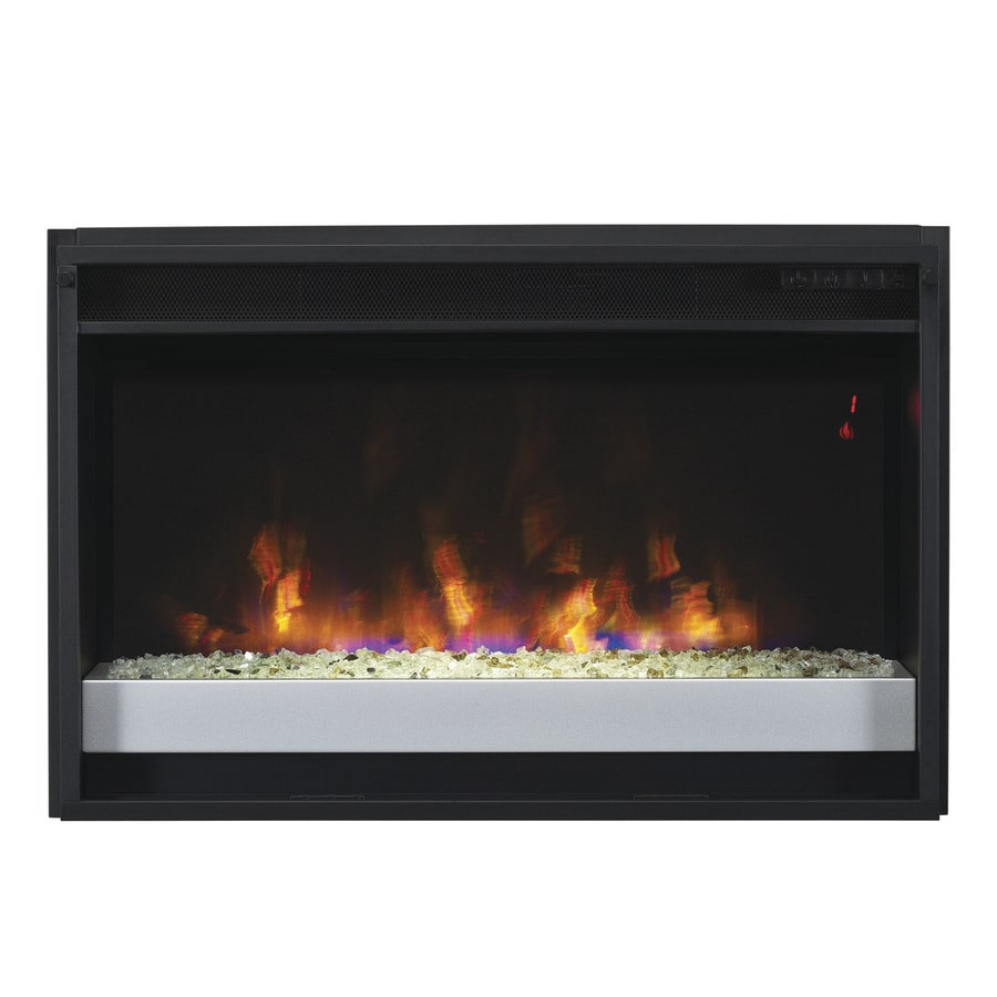Shop Classicflame 27 In Black Electric Fireplace Insert At