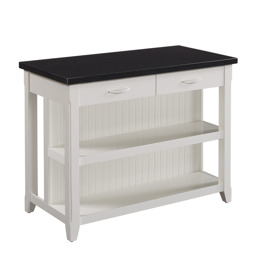 Shop Tresanti 24 5 In L X 47 5 In W X 36 In H White Kitchen Island At