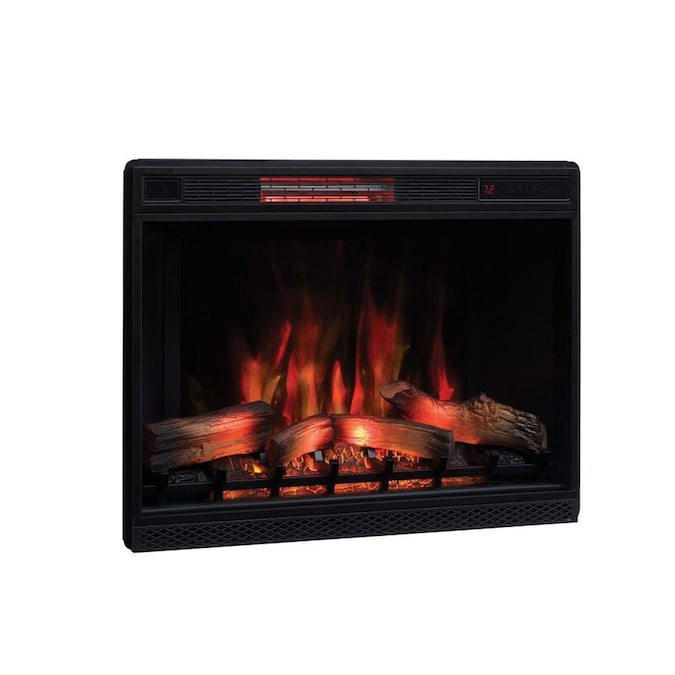 Classicflame 27 In Black Electric Fireplace Insert In The Electric Fireplace Inserts Department At Lowes Com