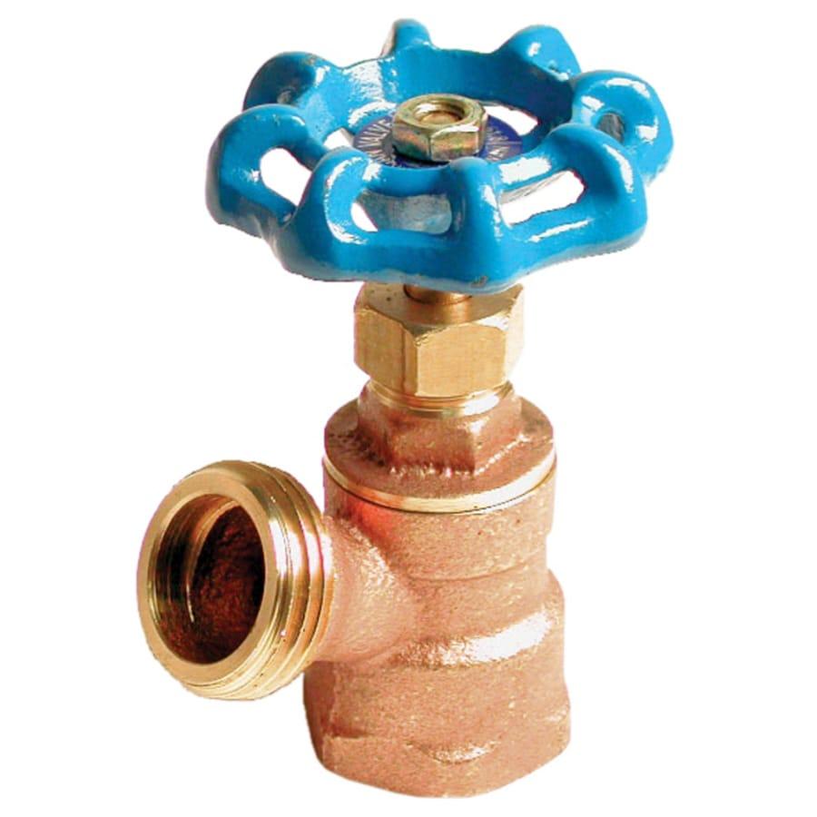 AMERICAN VALVE 1/2-in Female Brass Boiler Drain Valve