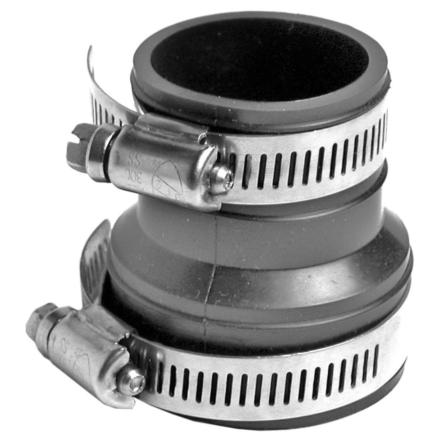AMERICAN VALVE 1-1/2-in x 1-1/4-in Dia Flexible PVC Connector Trap Fittings