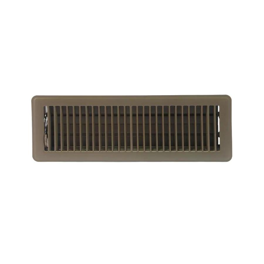 Accord 101 Series Painted Steel Floor Register (Rough Opening: 14-in x 4-in; Actual: 15.51-in x 5.51-in)