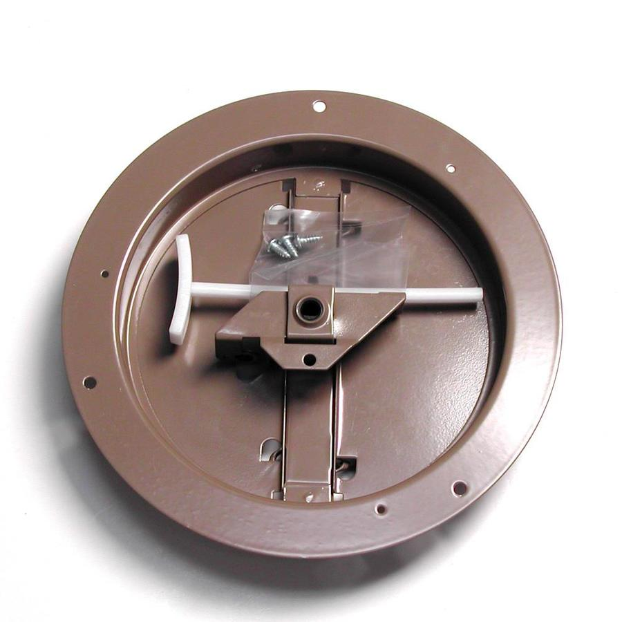 Accord 301 Series 8-in Dia Galvanized Steel Butterfly Damper