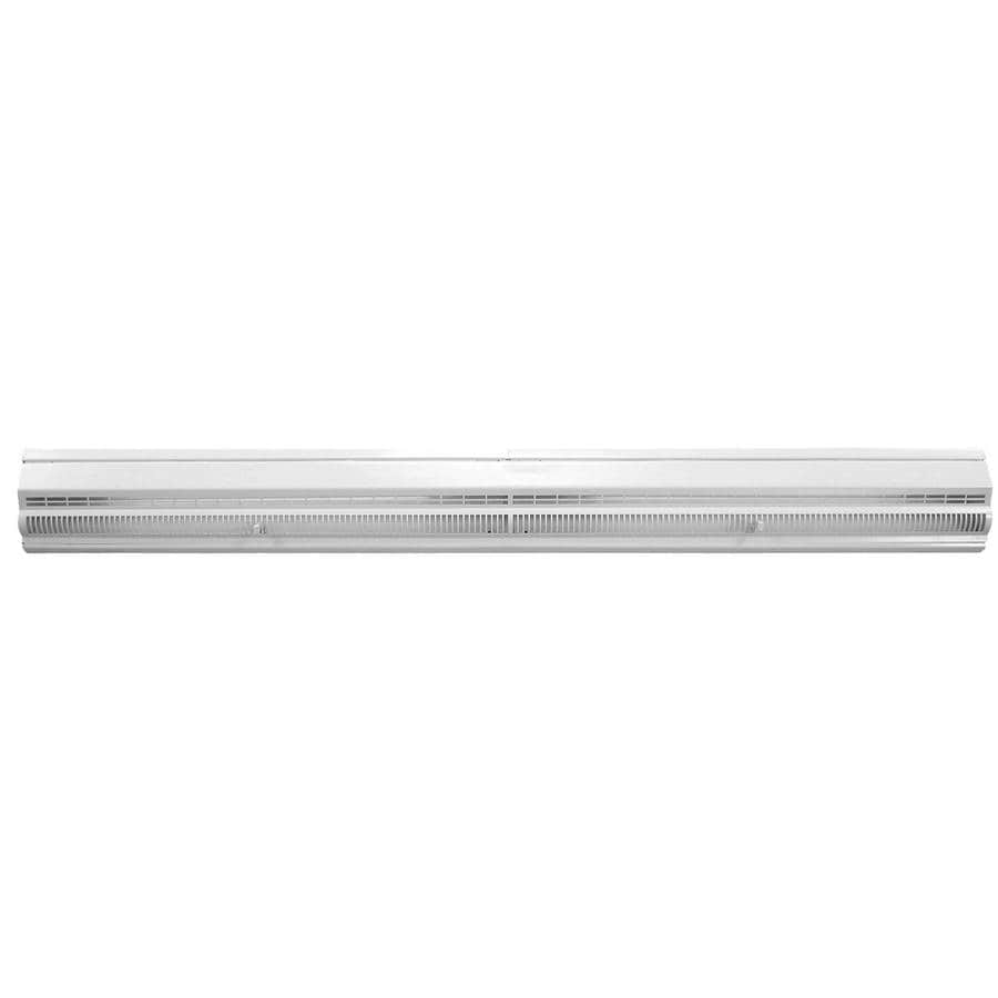 Accord 48-in White Steel Baseboard Register