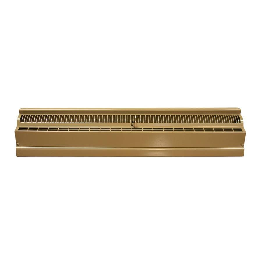 Accord 48-in Brown Steel Baseboard Register