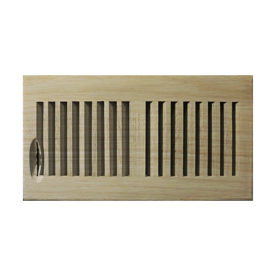 shop accord 6 in x 12 in unfinished wood floor register at