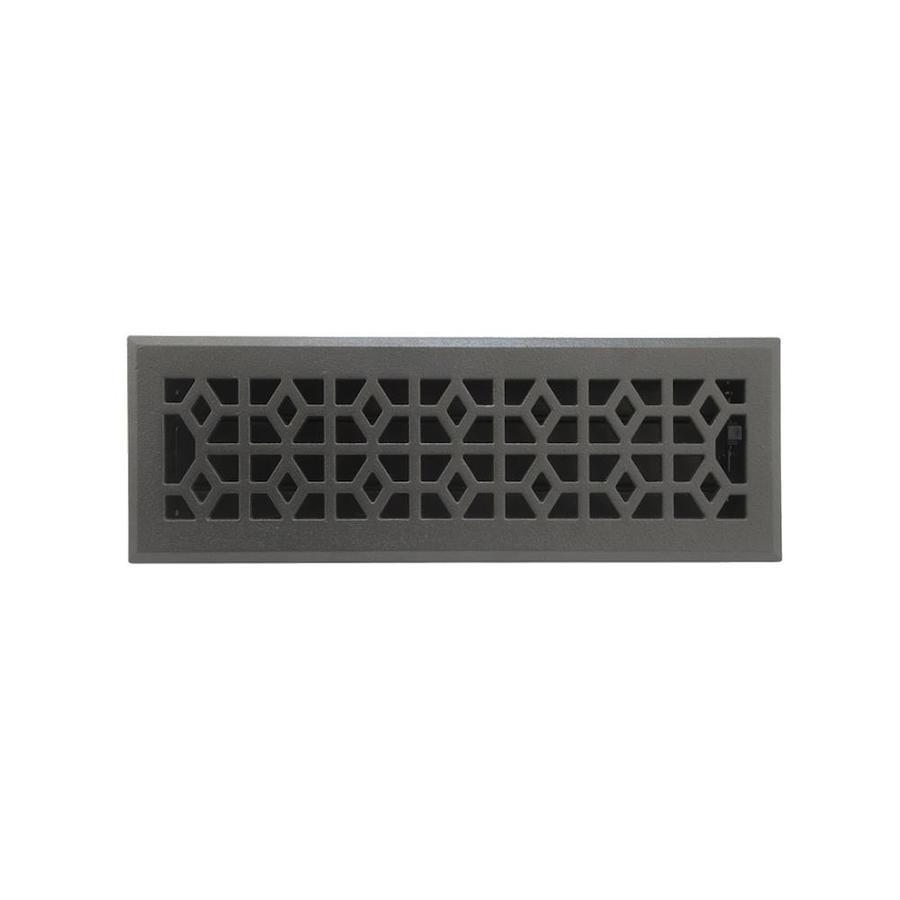 allen + roth Marquis Steel Floor Register (Rough Opening: 14-in x 4-in; Actual: 15.42-in x 5.39-in)
