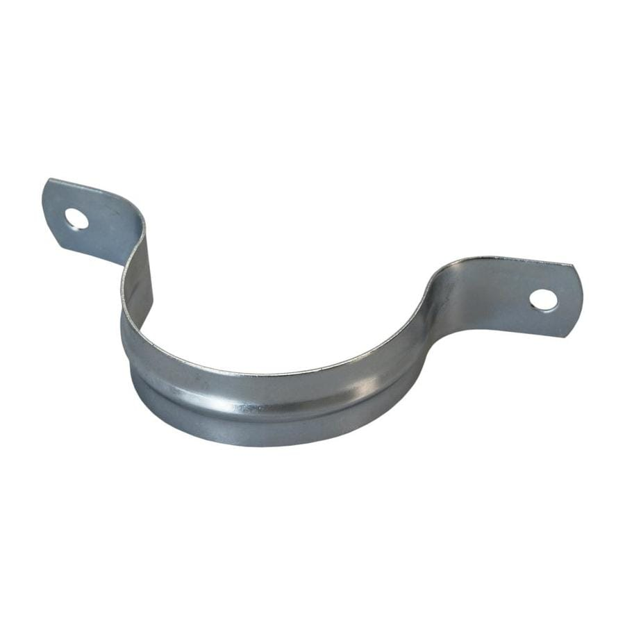 AMERICAN VALVE 4-Pack 1-in dia Galvanized 2-Hole Pipe Straps