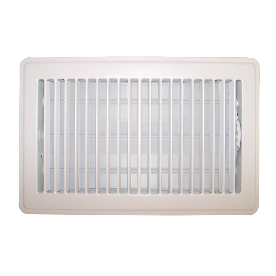 Accord Ventilation 101 Series Painted Steel Floor Register (Rough Opening: 12-in x 6-in; Actual: 13.5-in x 7.5-in)