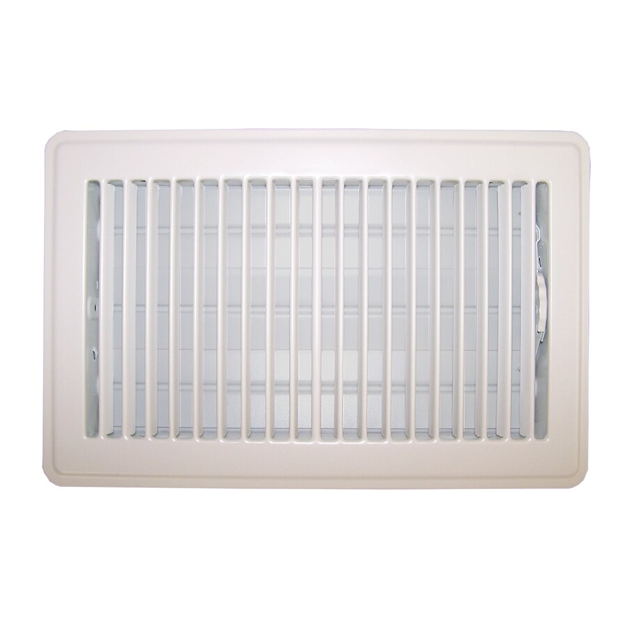 Accord Ventilation 101 Series Painted Steel Floor Register (Rough Opening: 14-in x 6-in; Actual: 15.5-in x 7.5-in)