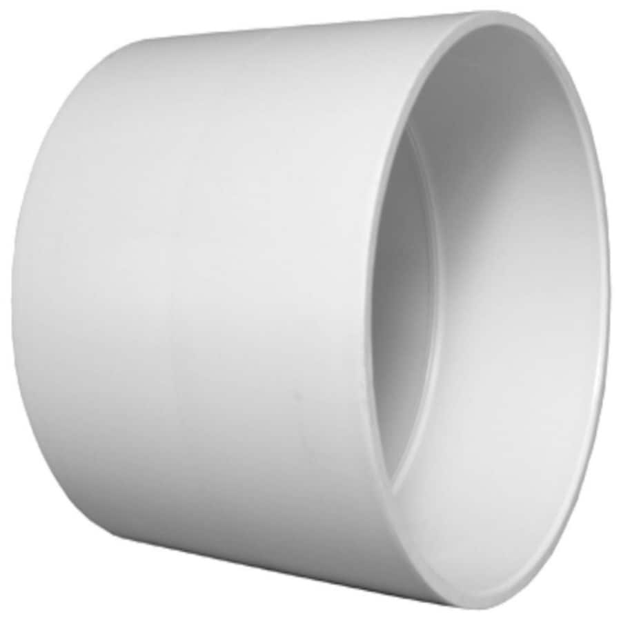 Charlotte Pipe 6-in dia PVC Coupling Fitting