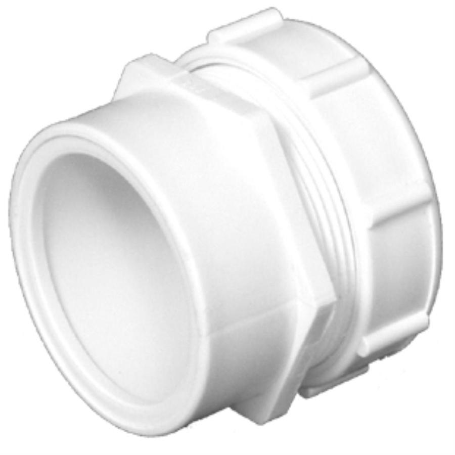 Charlotte Pipe 1-1/2-in x 1-1/4-in dia PVC Trap Adapter Fitting