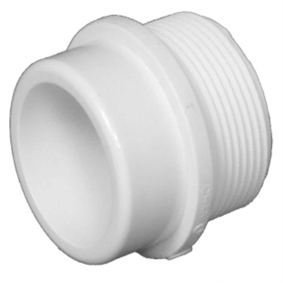 Charlotte Pipe 1-1/2-in Dia PVC Fitting Adapter Fitting